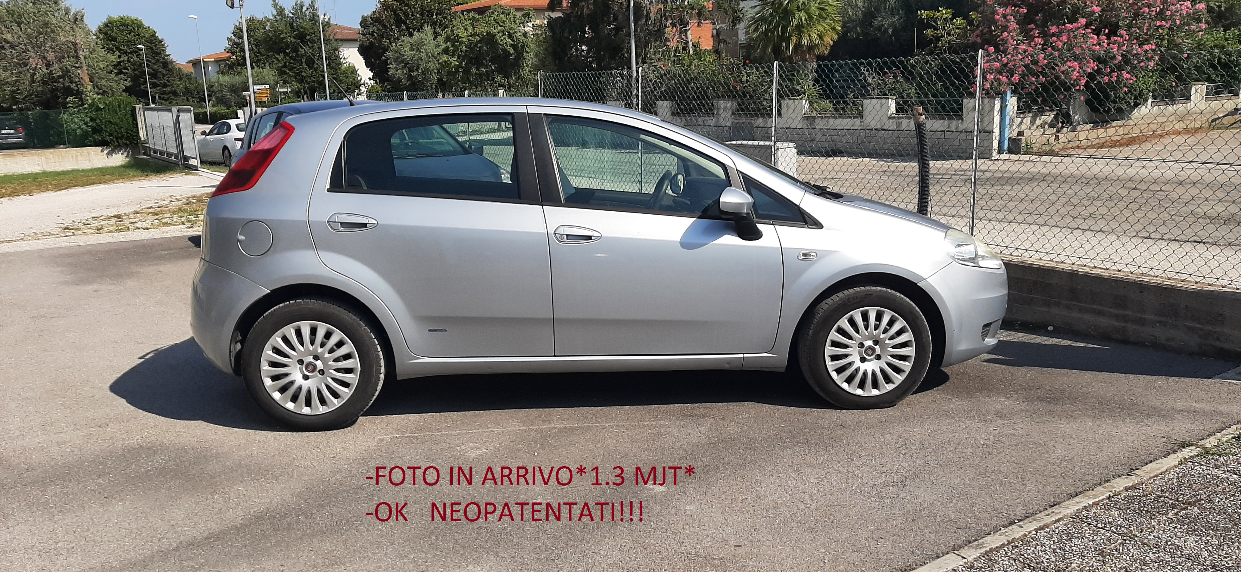 Fiat Grande Punto  1.3 mjt 16v 75cv 5p**OK NEOPATENTATI**